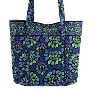 Vera Bradley Indigo Pop Classic Tote Bag